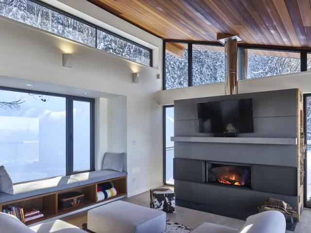 Un intérieur douillet au confort moderne