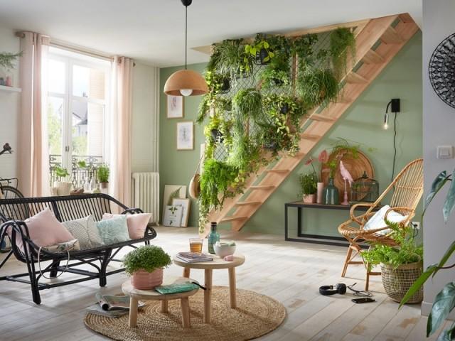 Un grillage aux allures de jardin pour sécuriser son escalier
