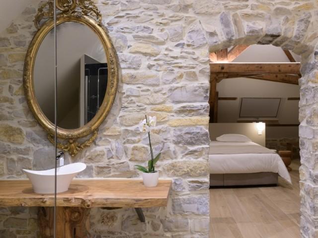 Des salles de bains dignes d'une suite de luxe