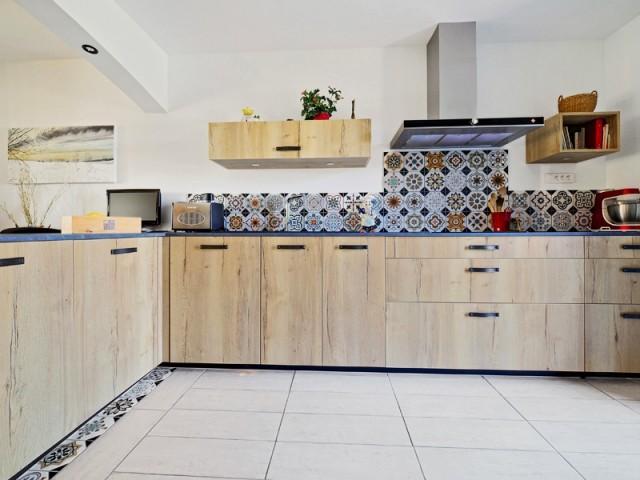 Une cuisine métamorphosée