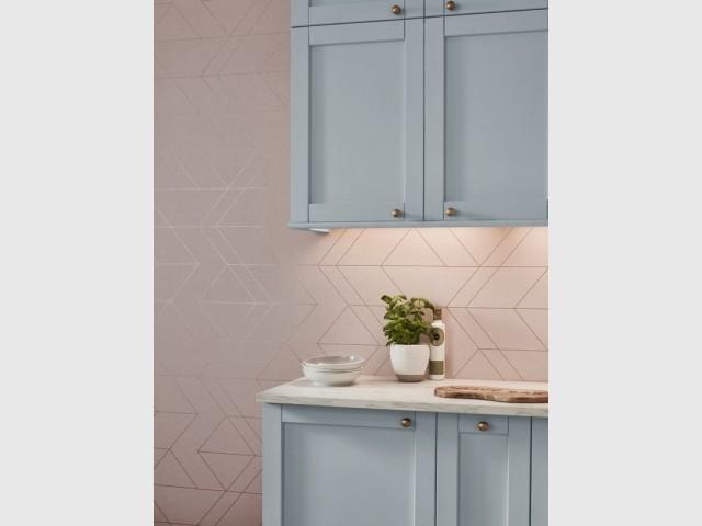 Du papier peint Art déco pour une cuisine élégante