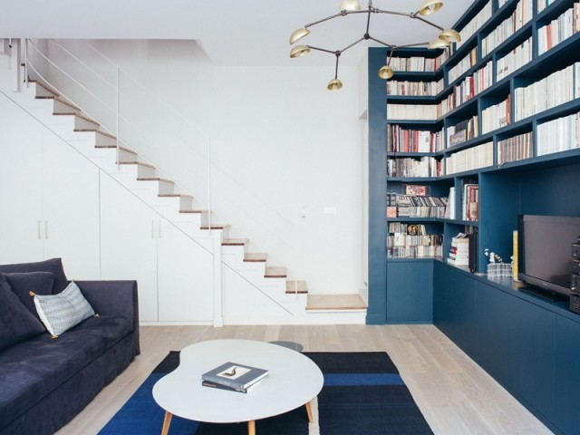 Un escalier savamment réaménagé