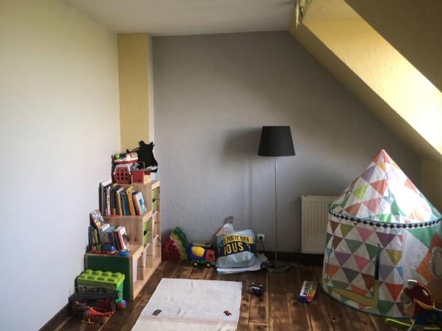 Avant : une chambre d'enfant à optimiser