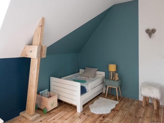 De la couleur pour structurer la chambre