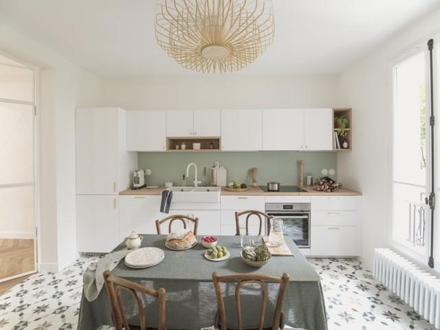 Après : une cuisine moderne et lumineuse