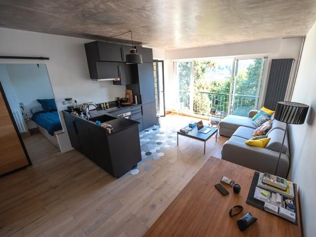 Après : un logement modernisé et réorganisé