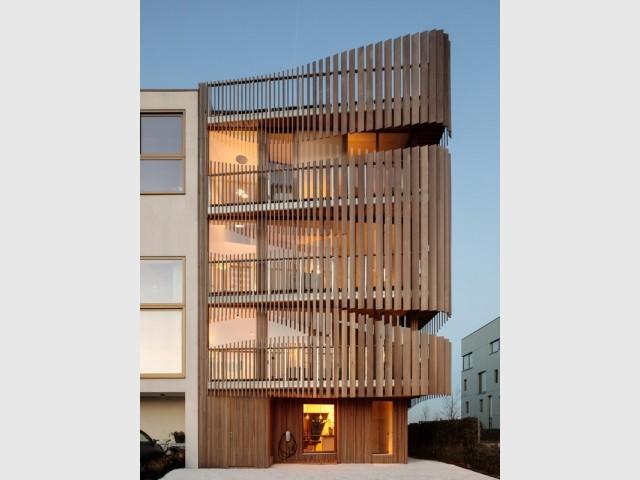 Un design biophile pour un immeuble écoresponsable