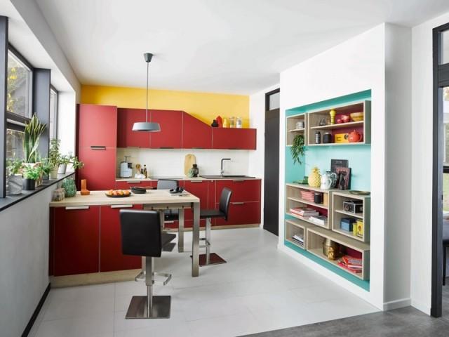 Une cuisine en I inspirée des grandes