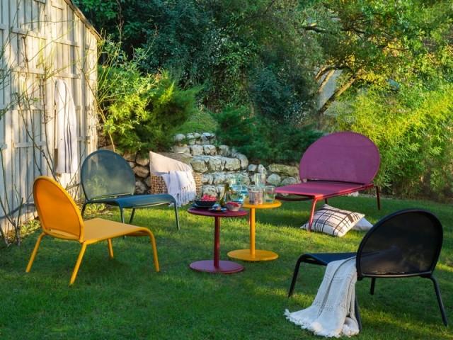 Des couleurs vives pour dynamiser son mobilier de jardin