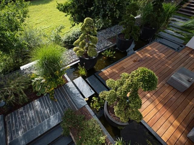 Une seconde terrasse à l'esprit zen