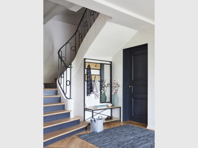 Des contremarches rafraîchies pour un escalier modernisé