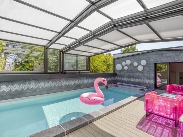 Un abri de piscine sur-mesure