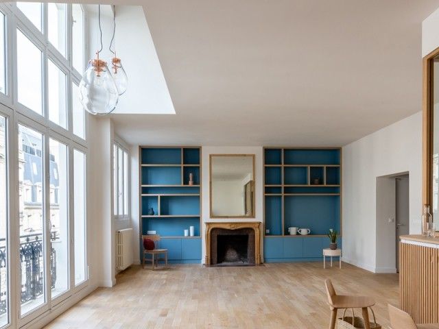 Un intérieur subtilement modernisé