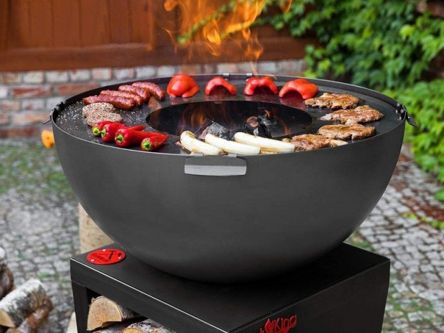Le plus convivial : le barbecue Santos Grill de Cook King