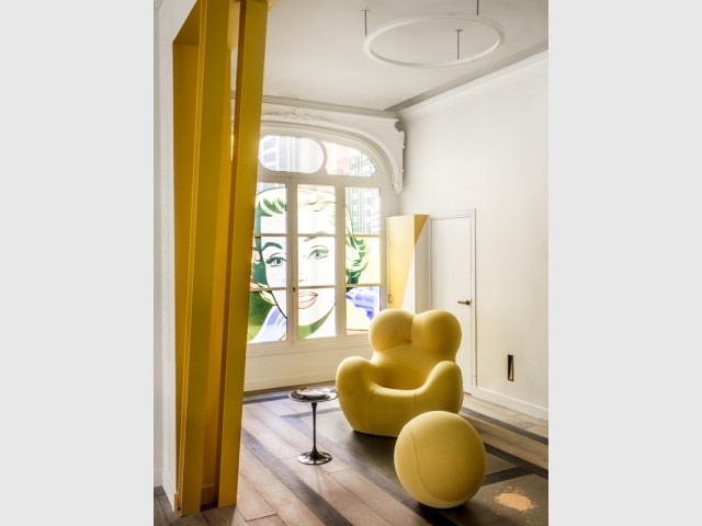 De lumineuses touches de jaune