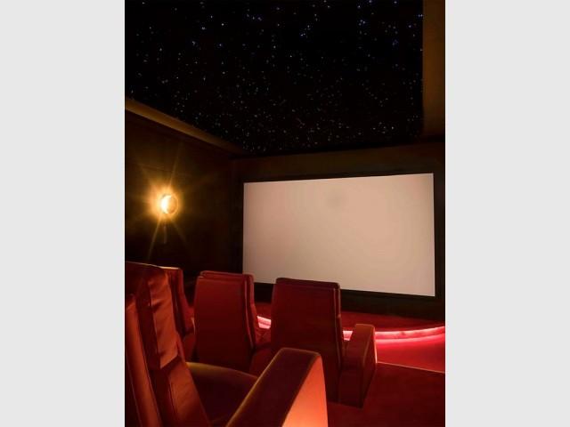 Une salle de cinéma privée