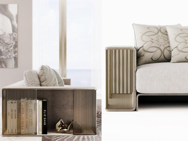 Canapé Legacy, Elie Saab Maison