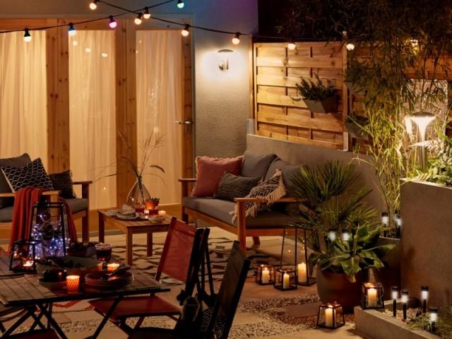 Multiplier les sources de lumière pour un jardin bien éclairé
