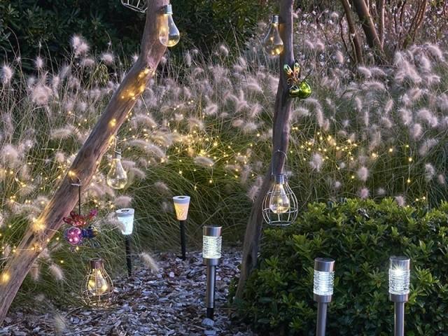 Une atmosphère lumineuse et féérique dans le jardin