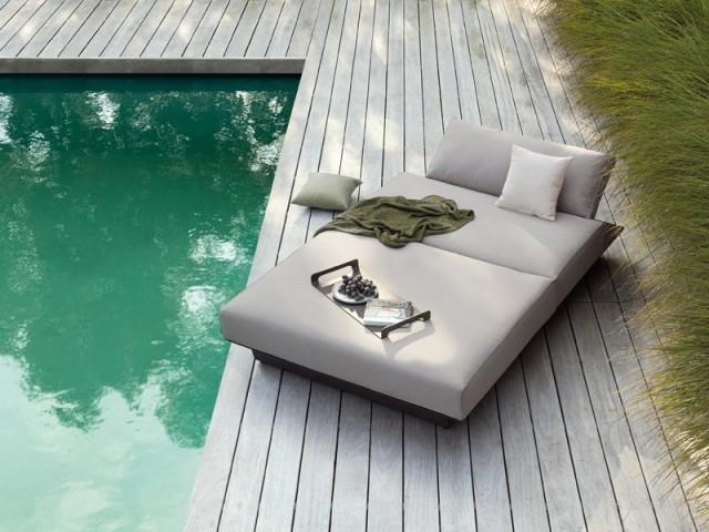 Un lit d'extérieur ultra confortable