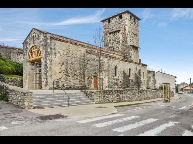 Rhône, Eglise St Etienne de Mélas du Teil