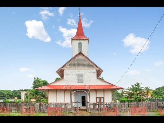 Guyane, Eglise Saint-Joseph d'Iracoubo