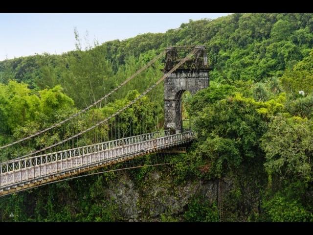 Réunion - Pont suspendu de la rivière de l-Est (c) OCUS - Fondation du patrimoine (14)