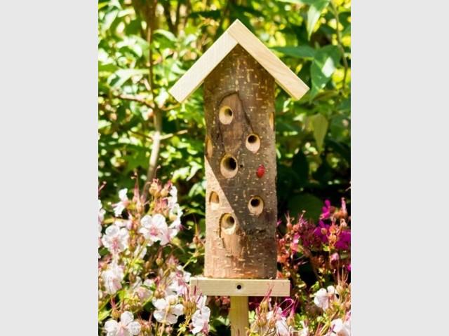Tour à coccinelles en bois, Wildlife World, vendu chez Greenweez, prix : 17,67 €
