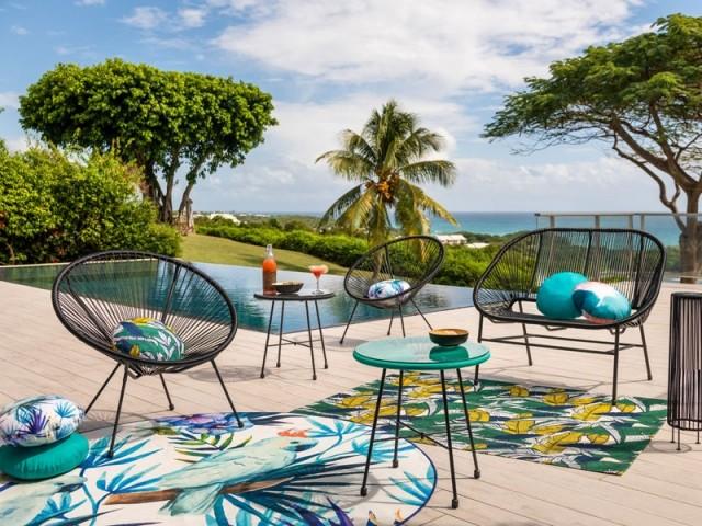 Une terrasse comme à Ibiza