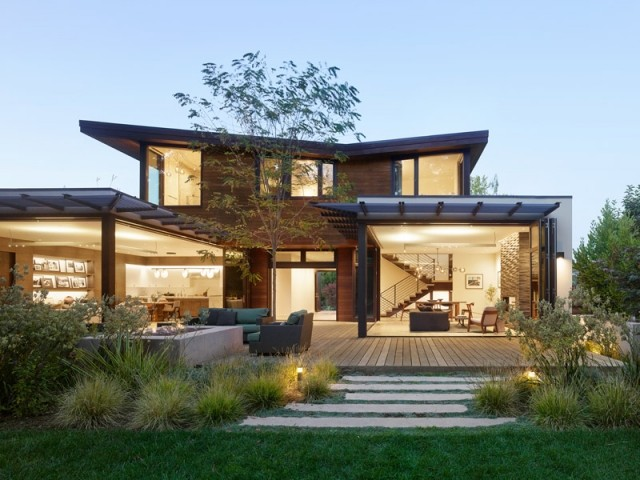 Une demeure familiale tournée vers la nature