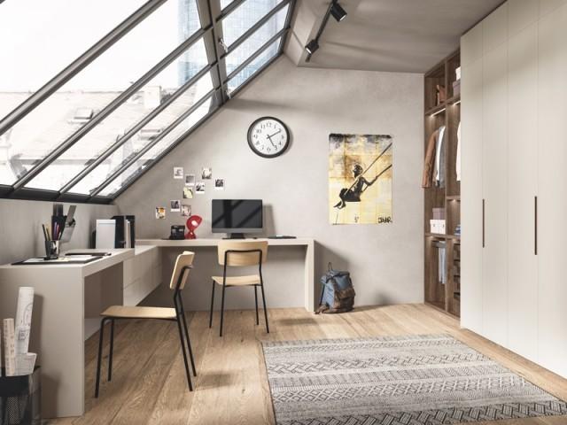 Un bureau sous les toits