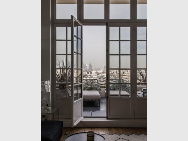 Une terrasse avec vue
