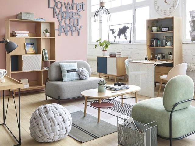 Canapé 2 places Froggy, Maisons du monde, prix : 209,30 €