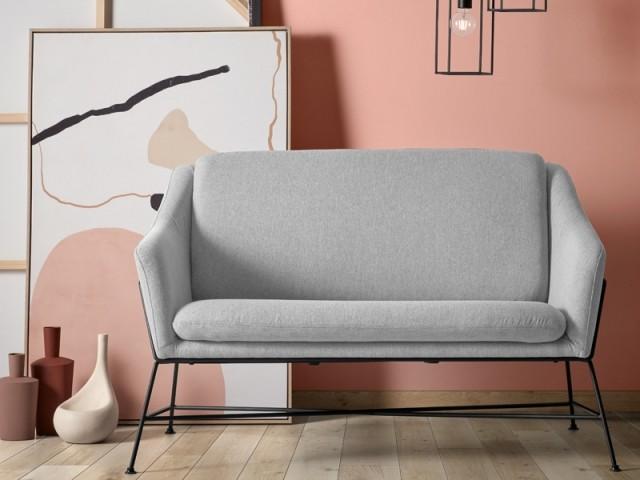 Canapé gris Brida, Kave Home, prix : 499 €