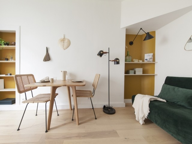 Un espace salon modulable