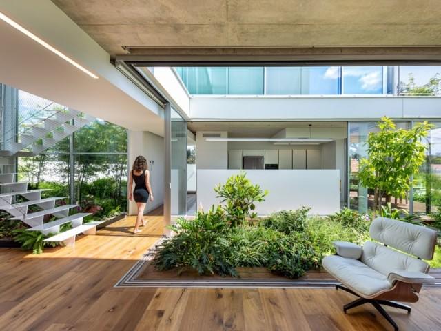 Une maison en harmonie avec la nature