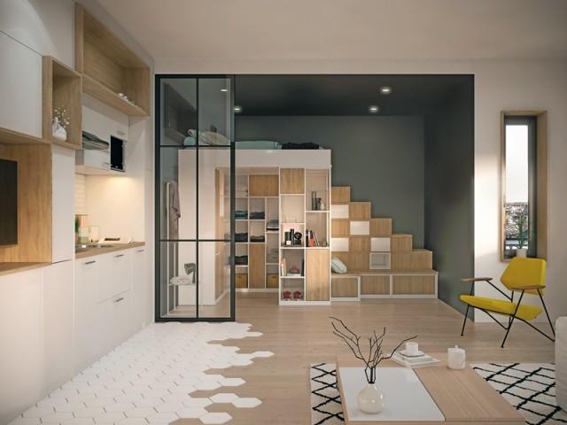 Aménager une chambre mezzanine
