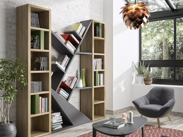 Une bibliothèque à dessiner soi-même