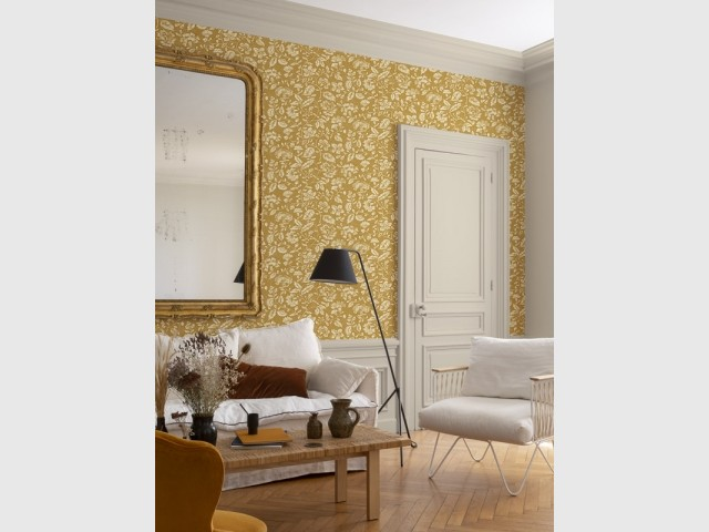 Papier peint Dame Antoinette N°1, Libéron, prix : 29,90 € le rouleau