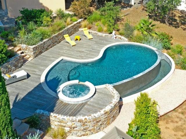 Catégorie piscine familiale de forme libre : Trophée d'Argent