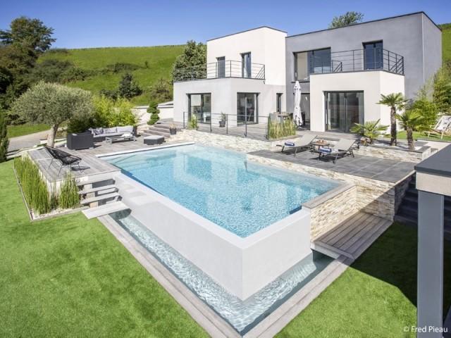 Catégorie piscine familiale de forme angulaire : Trophée d'Or