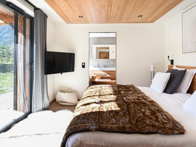 Des chambres avec vue sur les montagnes