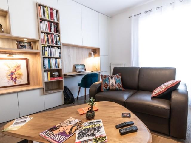 Un meuble qui se fond dans le décor