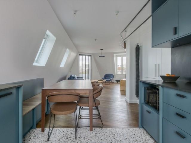Une cuisine désormais ouverte sur le salon