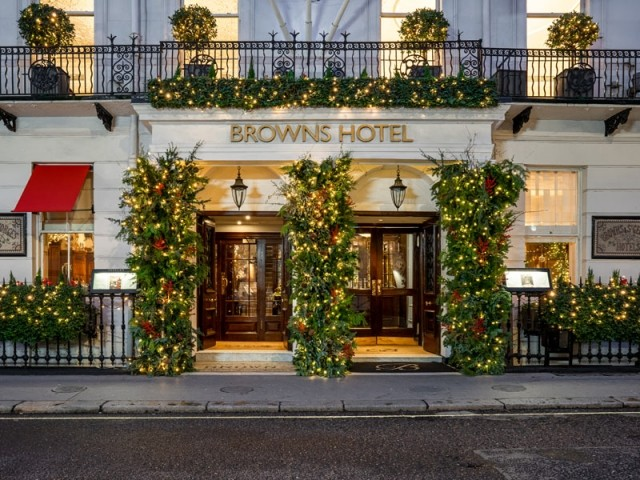 Le Brown's Hotel, Londres