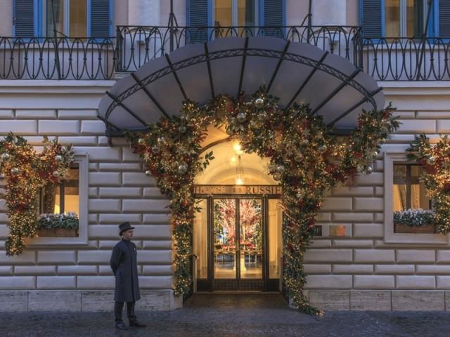 L'Hôtel de Russie, Rome