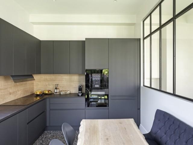 Une nouvelle cuisine plus spacieuse
