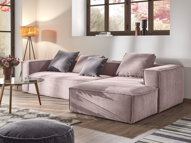 Canapé d'angle Block by Oscar Doll, Kave Home, prix : 1.459 €