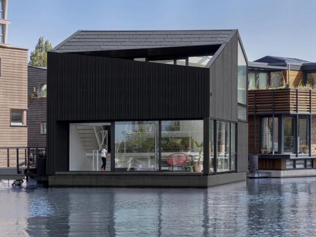 Une maison flottante, durable et autonome en énergie
