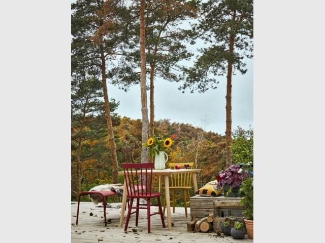 De la couleur pour égayer sa terrasse en hiver